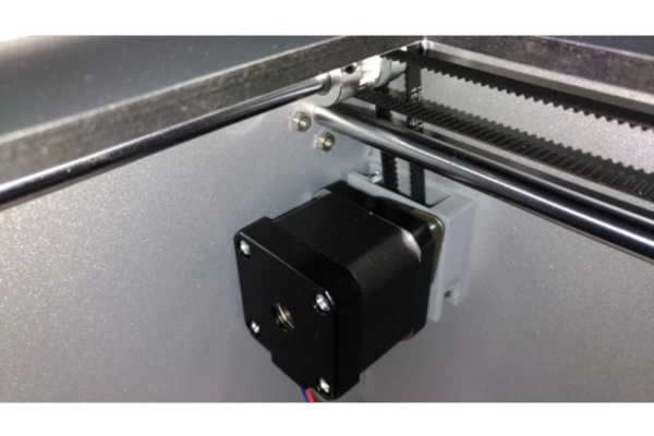 My self designed damper mount for the BIBO 3D Printer.